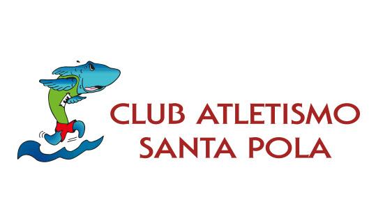 Logotipo Club de Atletismo de Santa Pola