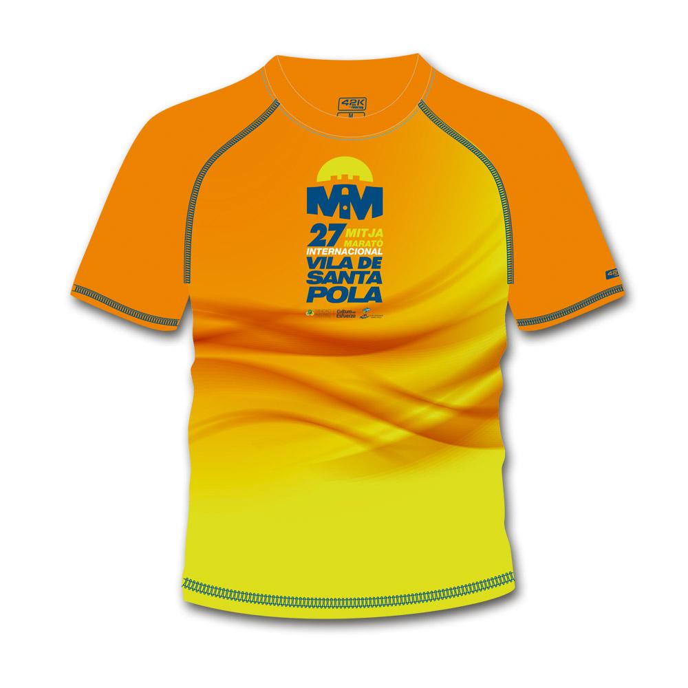 Camiseta Conmemorativa de la 27 Mitja Marató Interncional Vila de Santa Pola