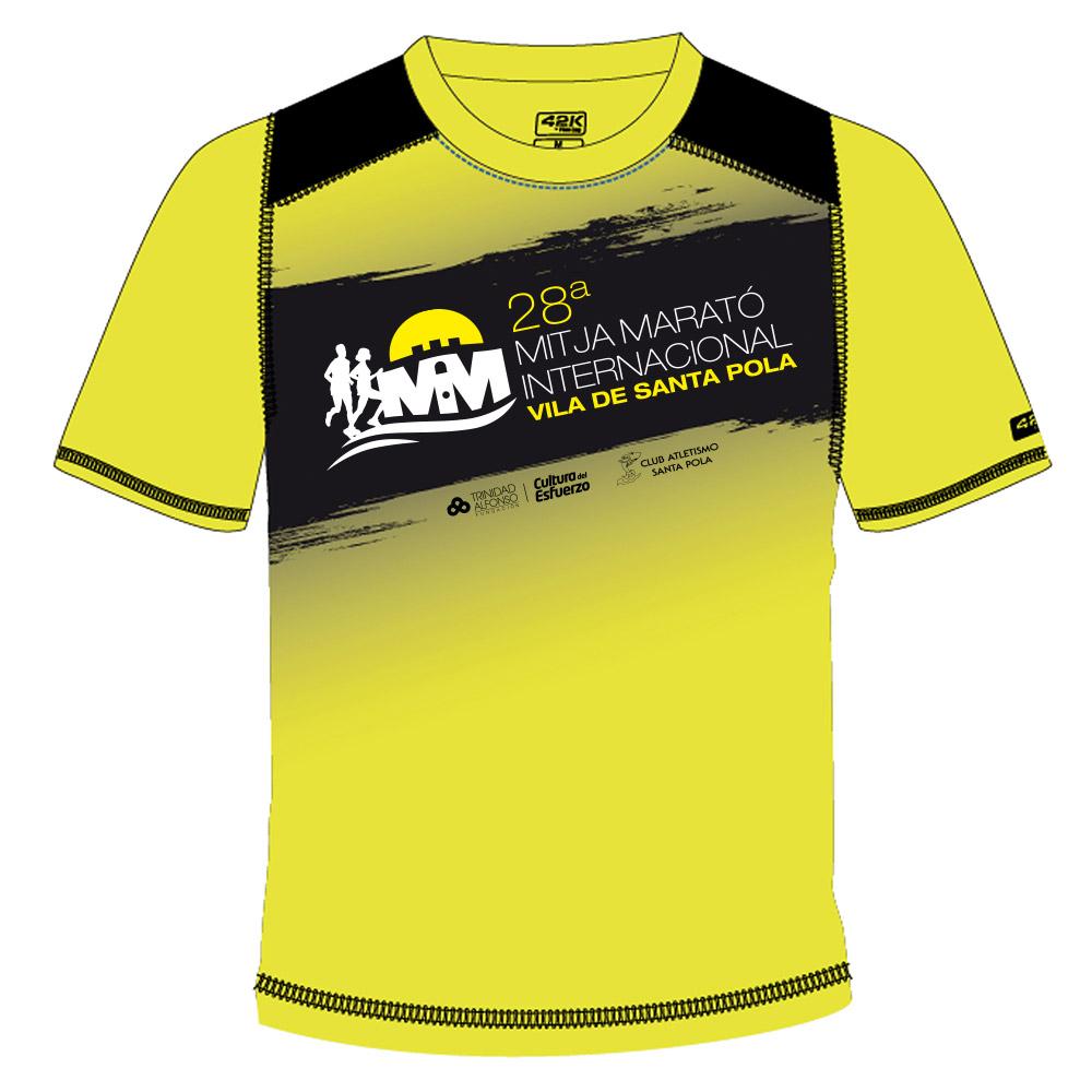 Camiseta de la 28 Mitja Marató Interncional Vila de Santa Pola