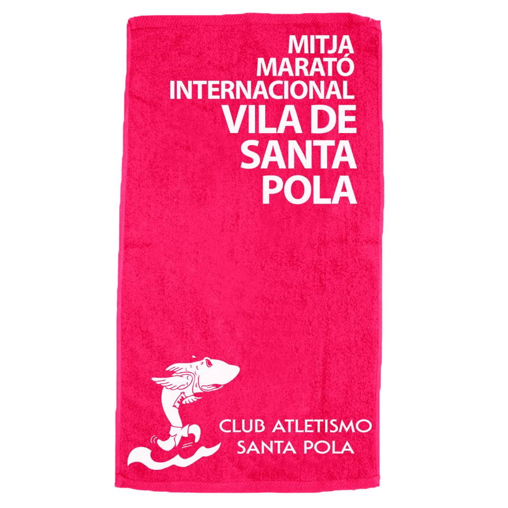 Toalla de la 28 Mitja Marató Interncional Vila de Santa Pola